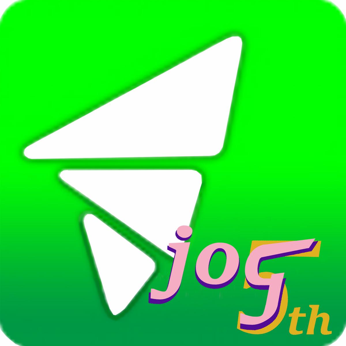 JOG5周年記念イベントロゴ