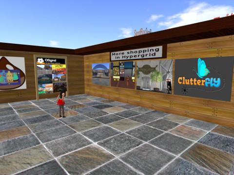 JOG Center SimにあるTP看板